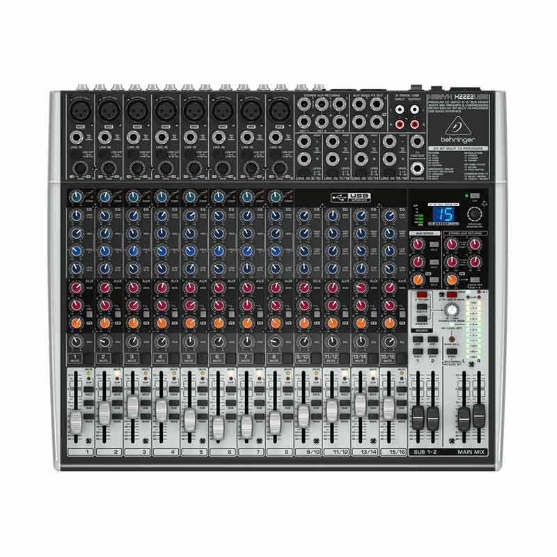 harga Behringer Xenyx 2222 USB Mixer Audio Blibli.com
