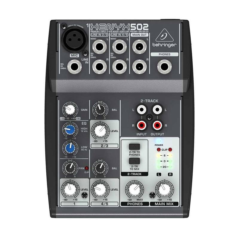 Behringer Xenyx 502 Mixer Audio