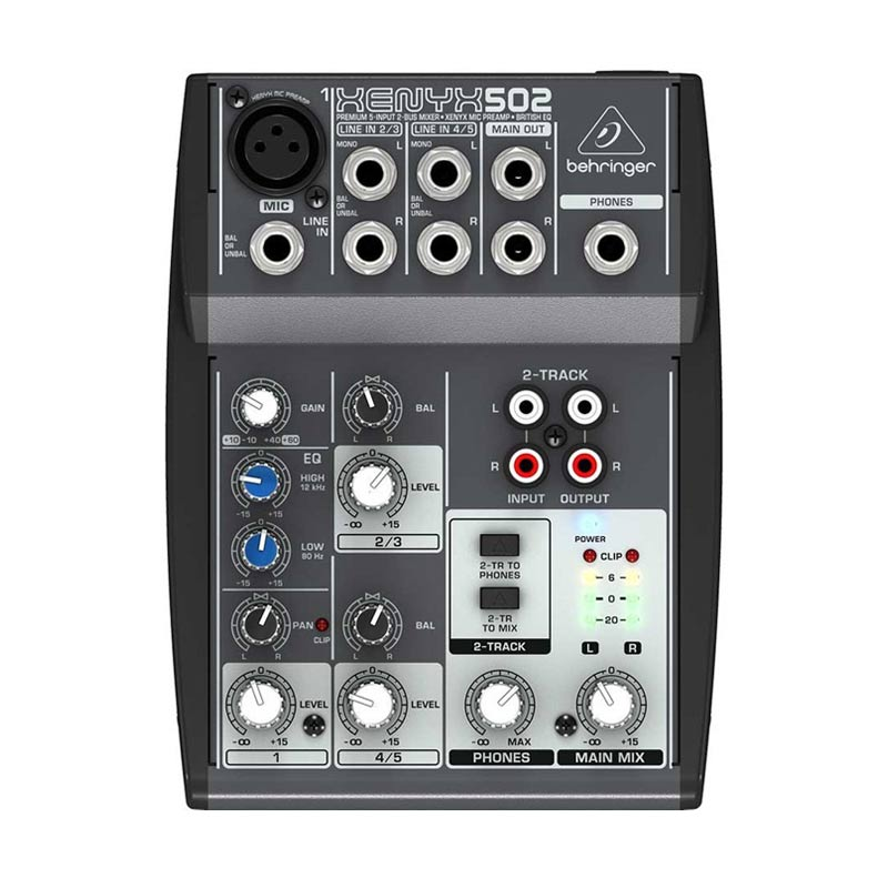 harga Behringer Xenyx 802 Mixer Audio Blibli.com