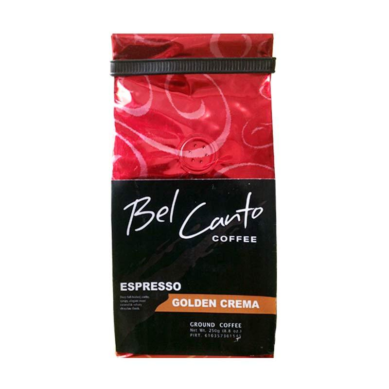 Bel Canto Espresso Golden Crema Fine Kopi [250 gr]
