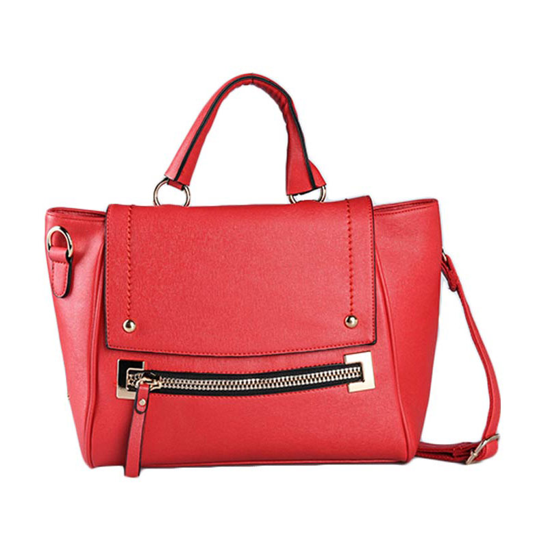 harga Bellezza 1659-38 R Tas Tangan - Red Blibli.com