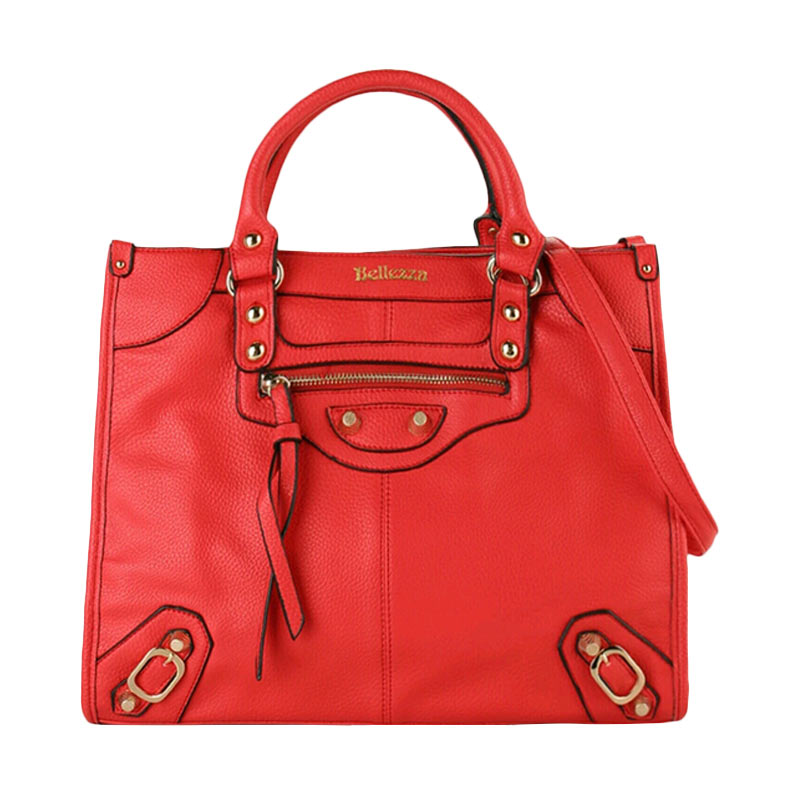 Bellezza 61276-01 Hand Bag - Red