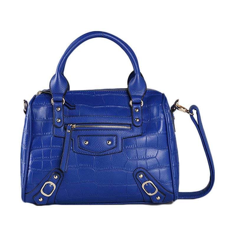 harga Bellezza 1707-38 BL Tas Tangan - Blue Blibli.com