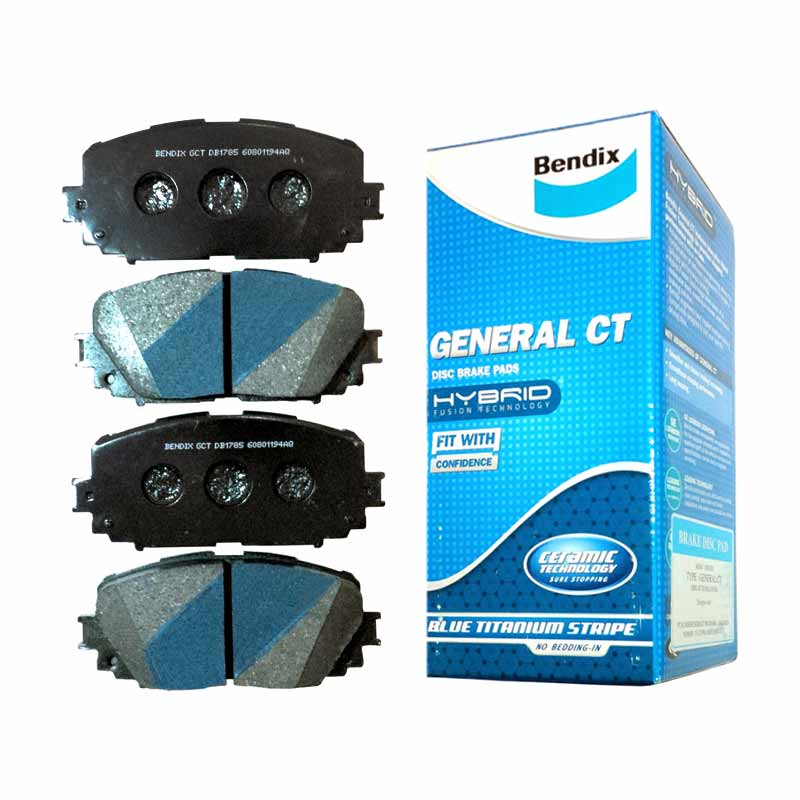 Bendix DB1490 General CT Front Brake Pads for Toyota Alphard 07-10