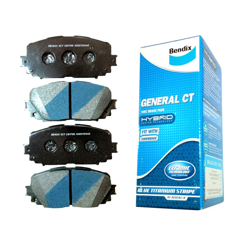 Bendix DB1481 Brake Pad Front for CR-V Gen 2 (i-VTEC) 03-06