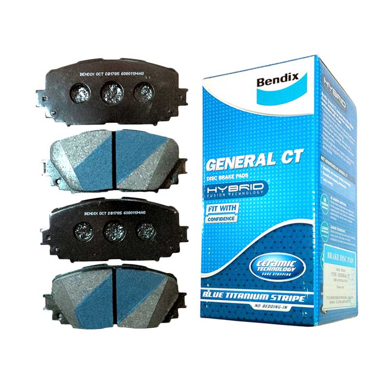 Bendix DB1249 General CT Front Brake Pads for Mitsubishi Galant V6, Galant Hiu, Eterna 89-03