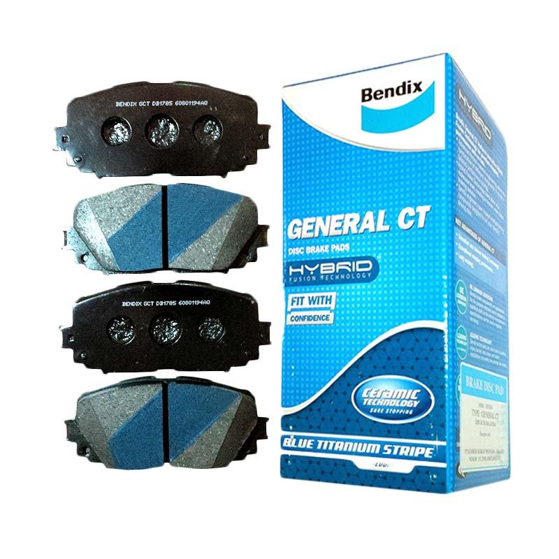 Bendix DB1262 Front Brake Pad for Jazz 1.5 97-07/New City 03-08/Brio/Civic Genio/Estilo