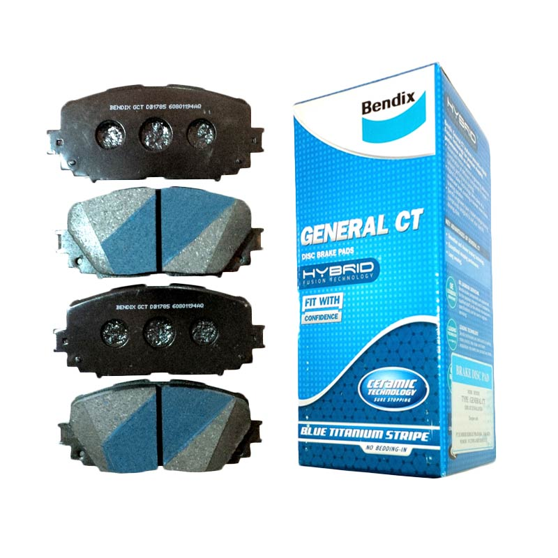 Bendix DB1286 Brake Pad Front for New Jazz 08-Now, All New City 08-Now, Mobilio, Stream 1.7, Civic 00-04