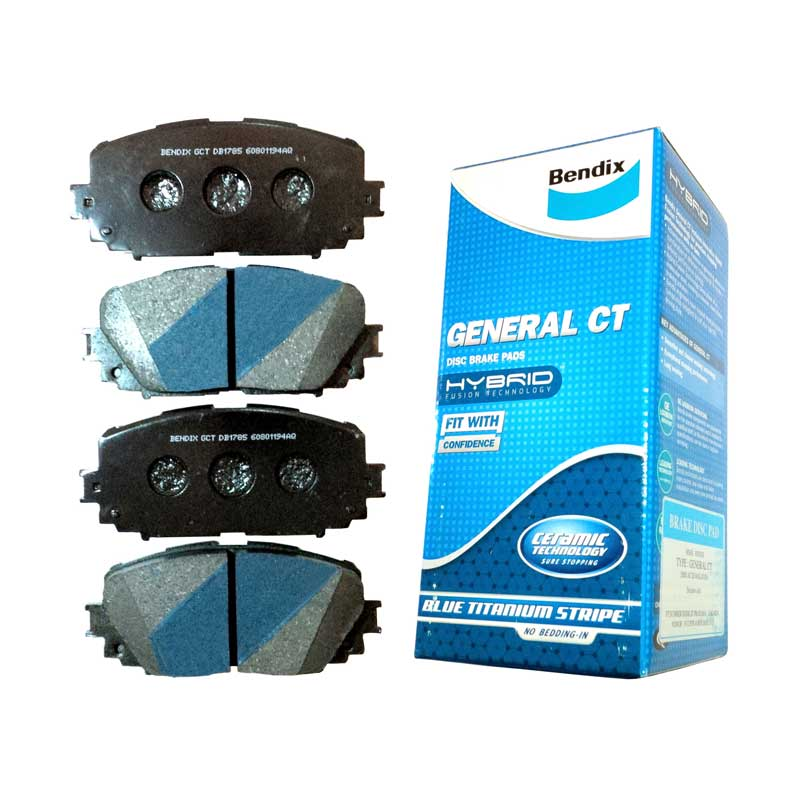 Bendix DB1333 Front Brake Pad for X-Trail 2005, Serena 2005, Teana, Infinity