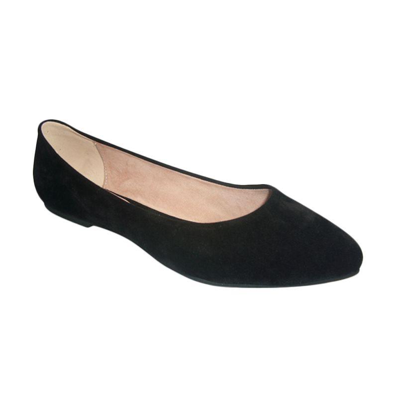Benitz Flat 1210 Hitam Sepatu Wanita