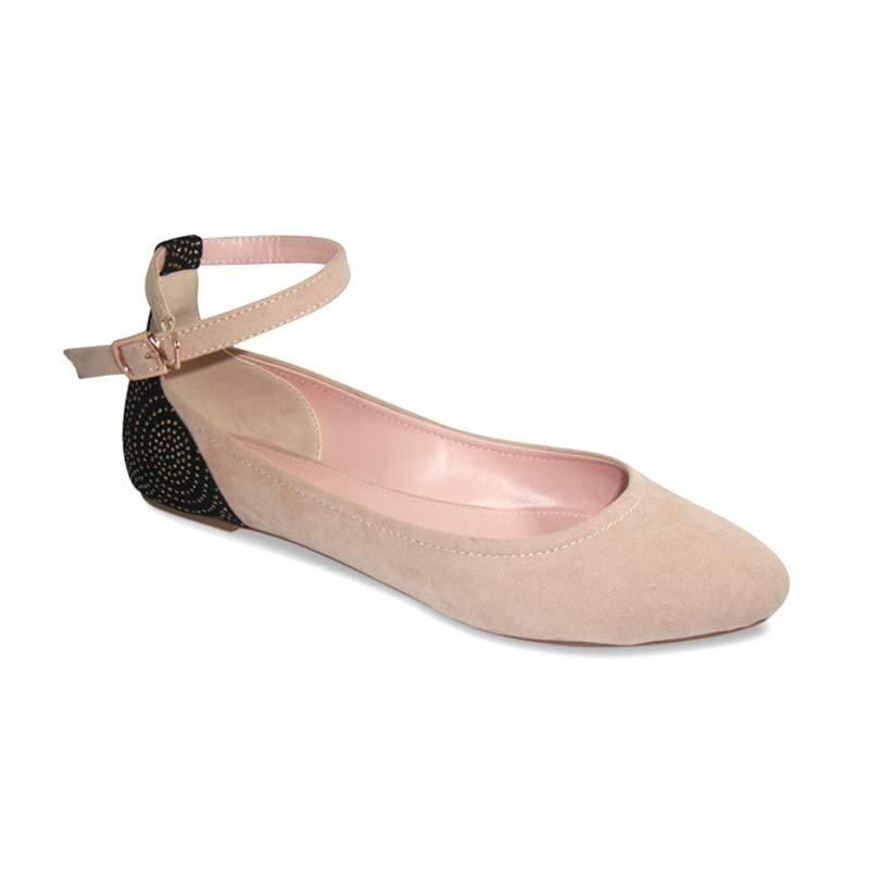 Benitz Flat 1215 Cream Sepatu Wanita