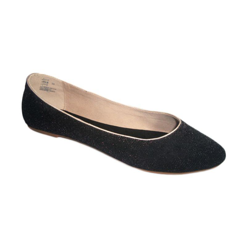 Benitz Flat 1219 Hitam Sepatu Wanita