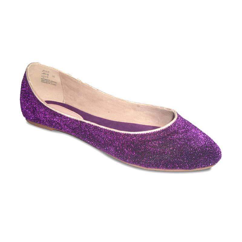 Benitz Flat 1219 Ungu Sepatu Wanita