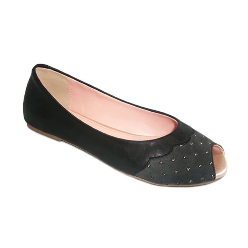 Benitz Flat 1304 Hitam Sepatu Wanita