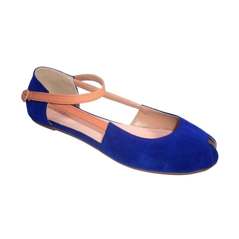 Benitz Flats 1108 Biru Sepatu Wanita