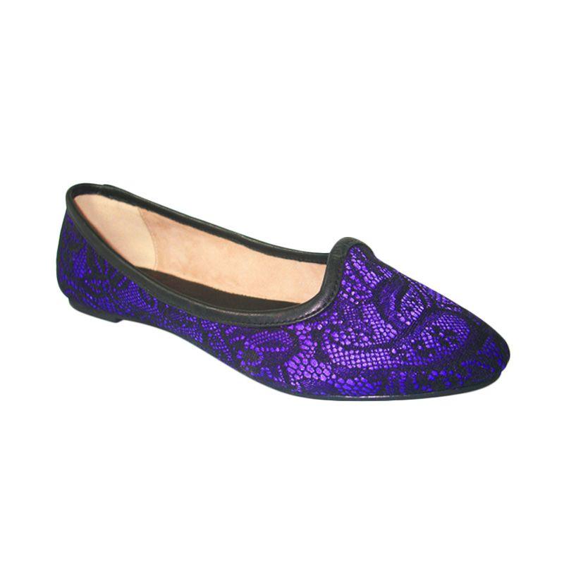 Benitz Flats 1203 Ungu Sepatu Wanita