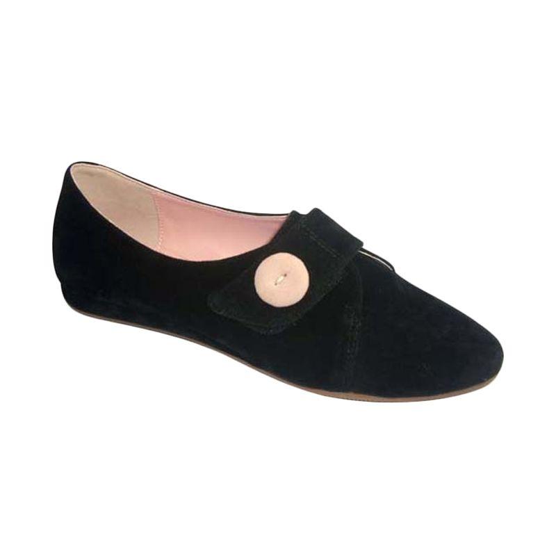 Benitz Flats 1206 Black Sepatu Wanita