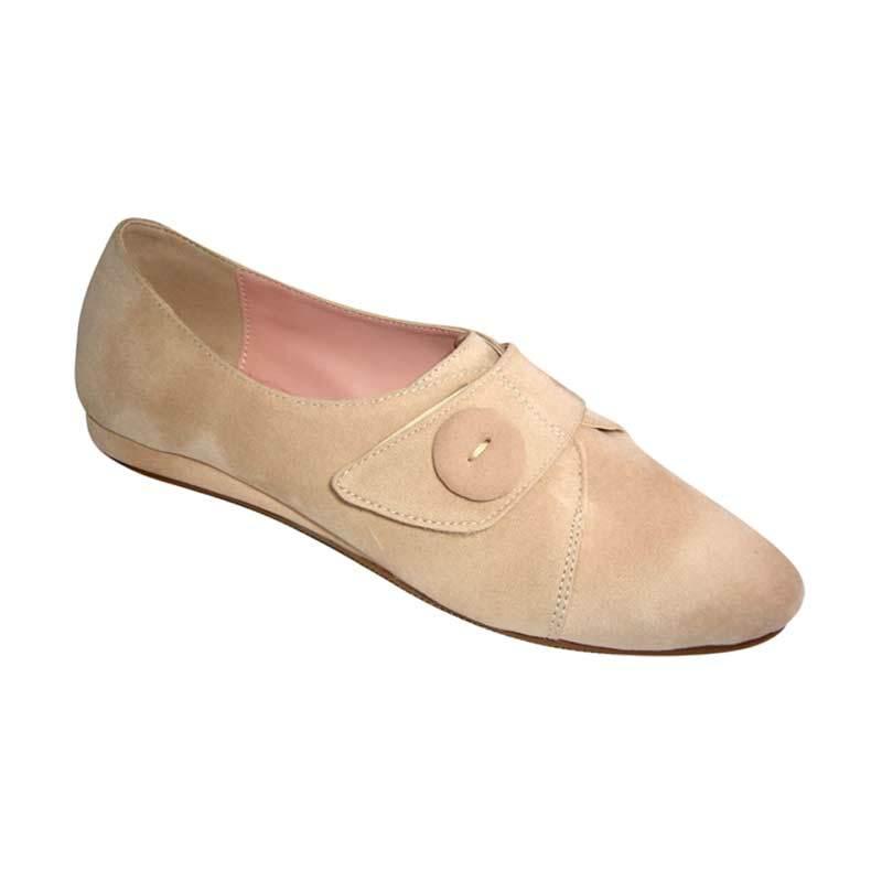 Benitz Flats 1206 Cream Sepatu Wanita
