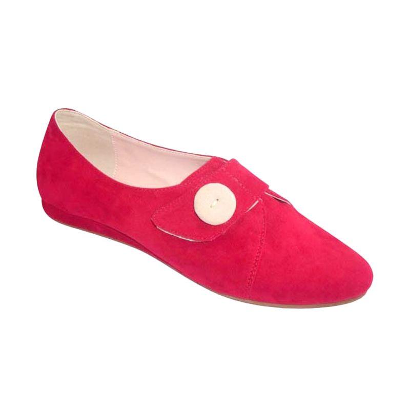 Benitz Flats 1206 Merah Sepatu Wanita