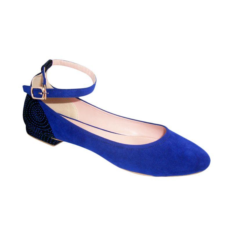 Benitz Flats 1209 Biru Sepatu Wanita