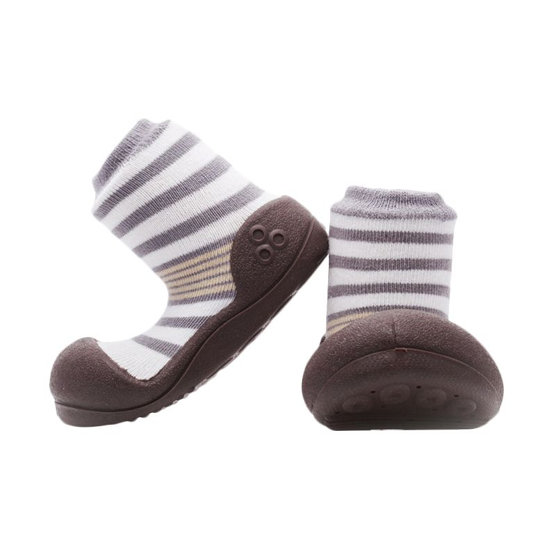 harga Attipas Natural Herb Two Tone Brown Sepatu Bayi Blibli.com