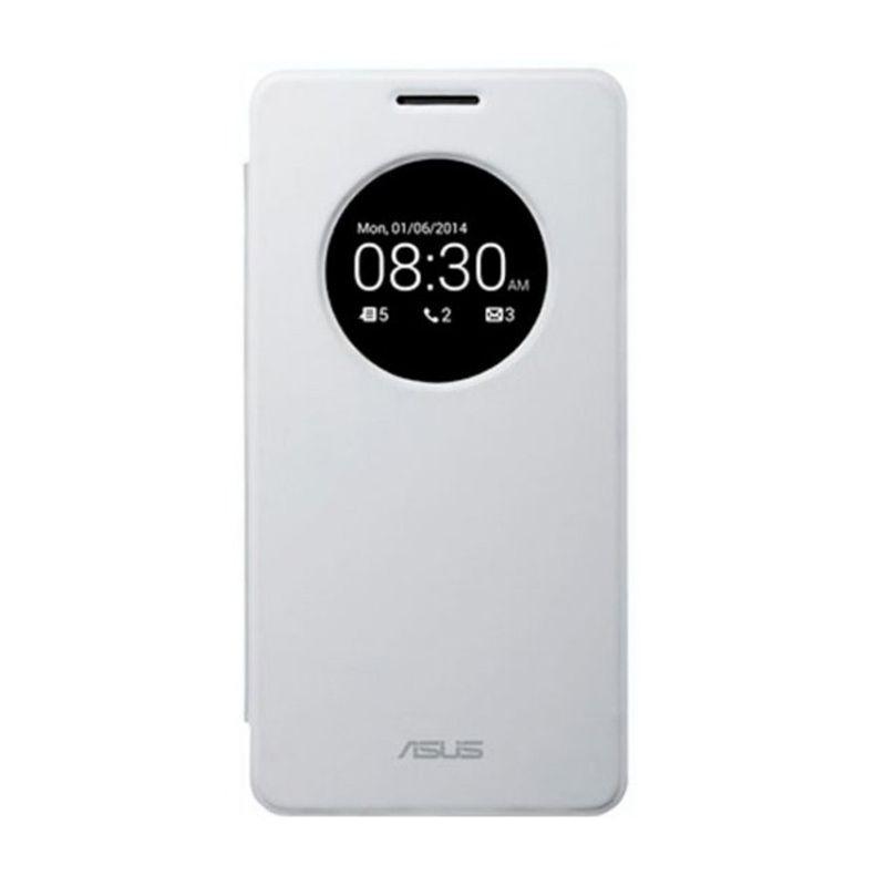 Asus View Flip Cover White Casing for Asus ZenFone 5 [Original]