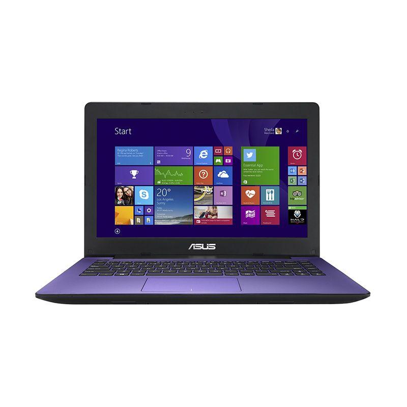 Asus X453MA-WX218D Ungu Notebook [2 GB RAM/Celeron N2840/14 Inch]
