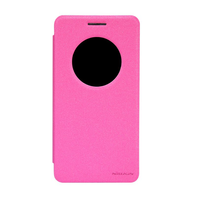 Nillkin Sparkle Leather Pink Casing for Asus Zenfone 6