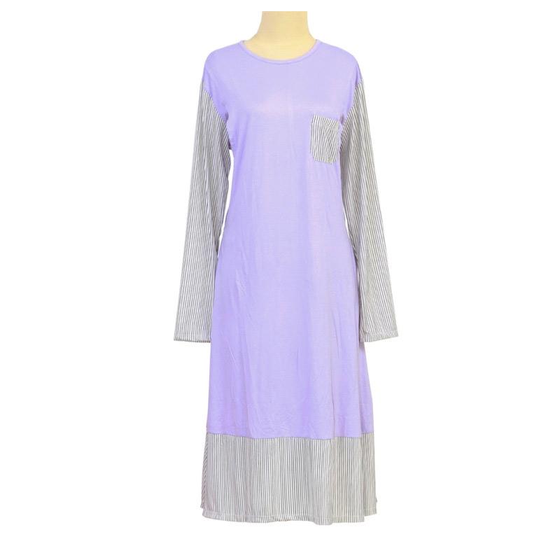 Berryblues Ver 23 Lady Tunik Baju Menyusui - Lavender 1