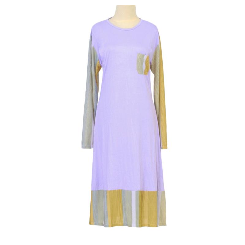 Berryblues Ver 23 Lady Tunik Baju Menyusui - Lavender 2