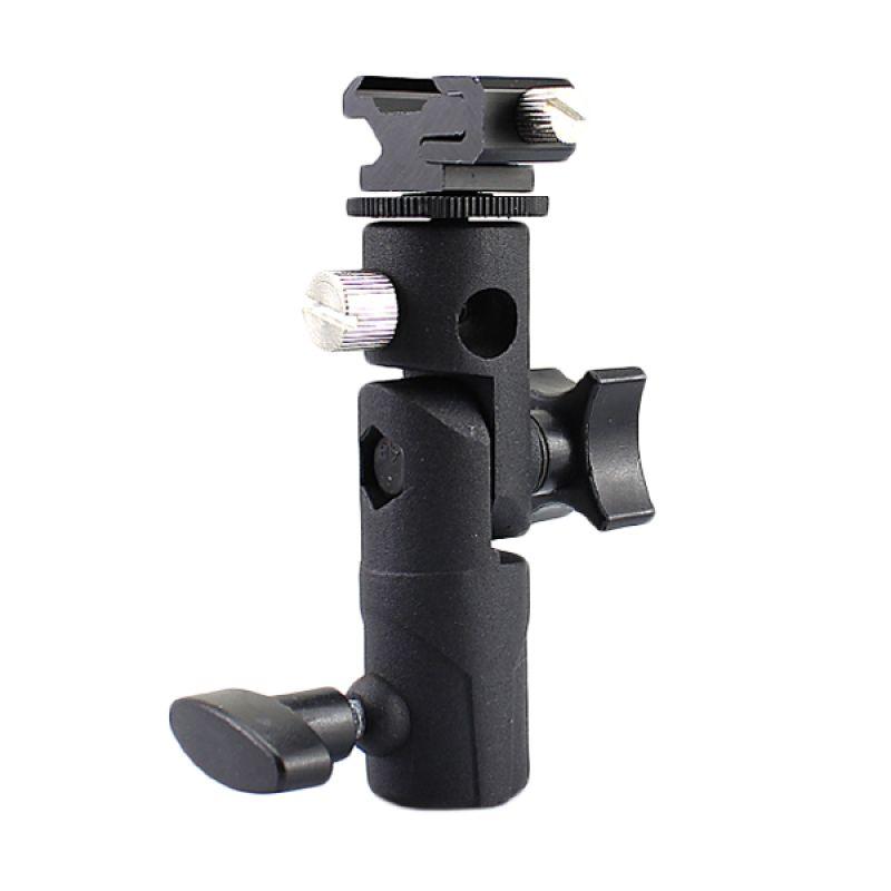 Breket Flash Payung Universal Metal Type H Aksesoris Kamera