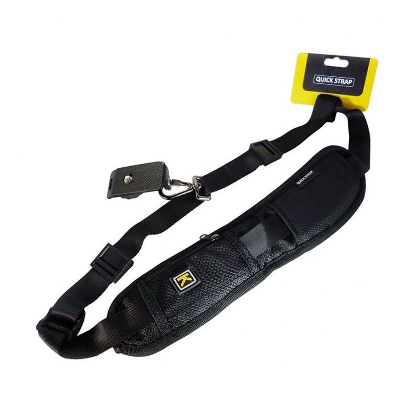 Caden Quick Strap Rapid Hitam Camera Sling Aksesoris Kamera