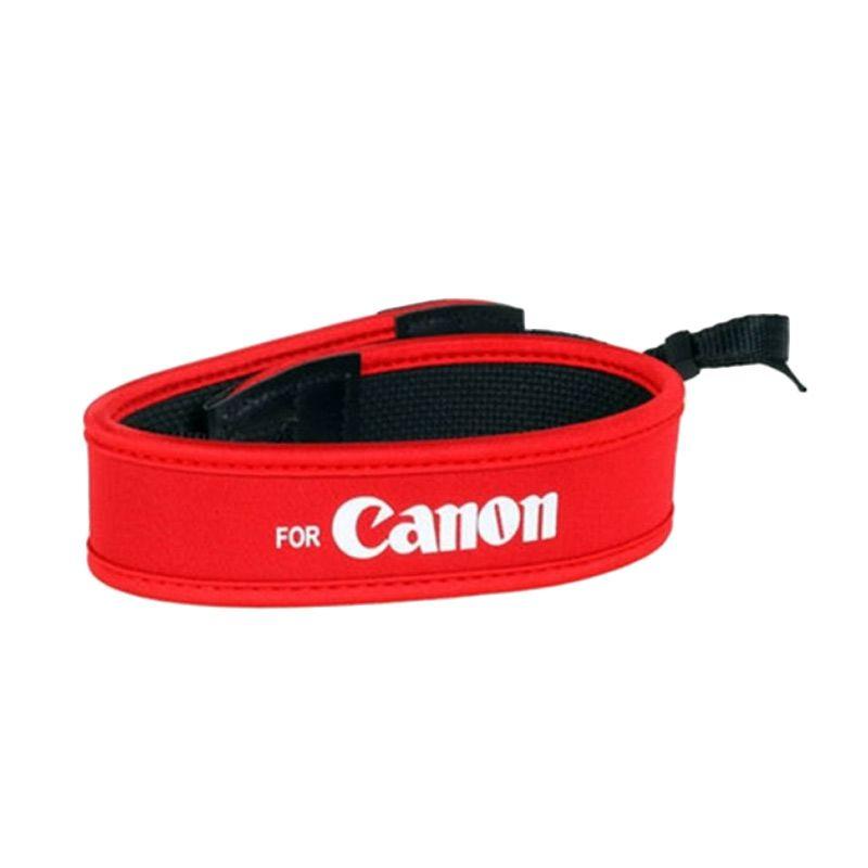 Canon Merah Strap Kamera