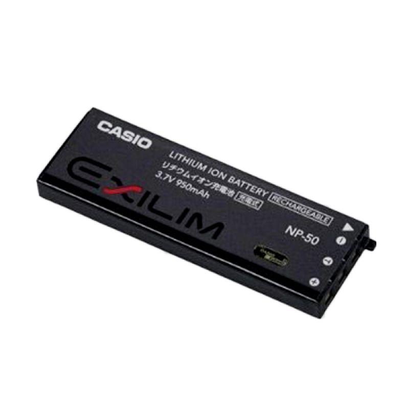 harga Casio Exilim NP 50 Hitam Baterai Kamera [950 mAh] Blibli.com