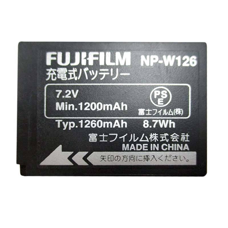 Fujifilm NP-W126 Hitam Baterai Kamera [1260 mAh]