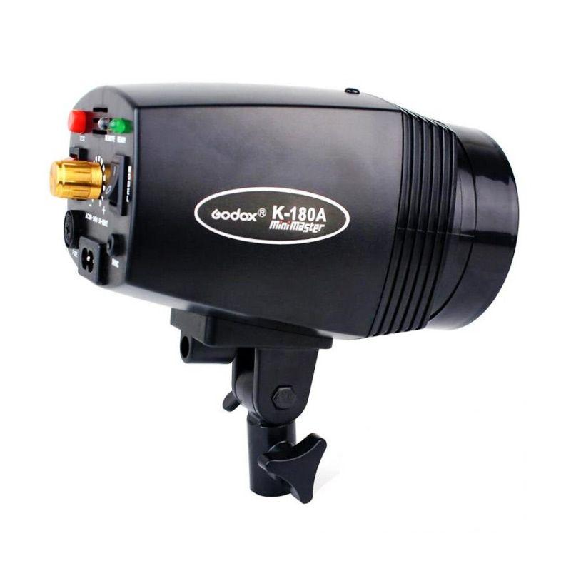 Godox K-180A Mini Master Hitam Lampu Studio
