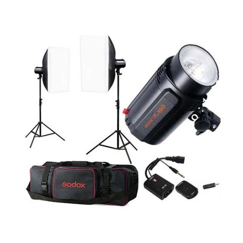 Godox Mini Pioneer 160 Kits Lampu Studio [Paket]