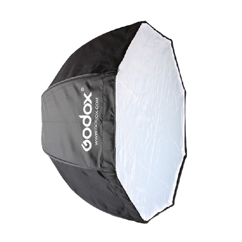 GODOX Portabel Oktagon Softbox Peralatan Fotografi  [120 Cm]