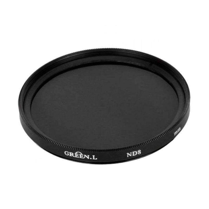 Green L ND8 55 mm Filter Lensa