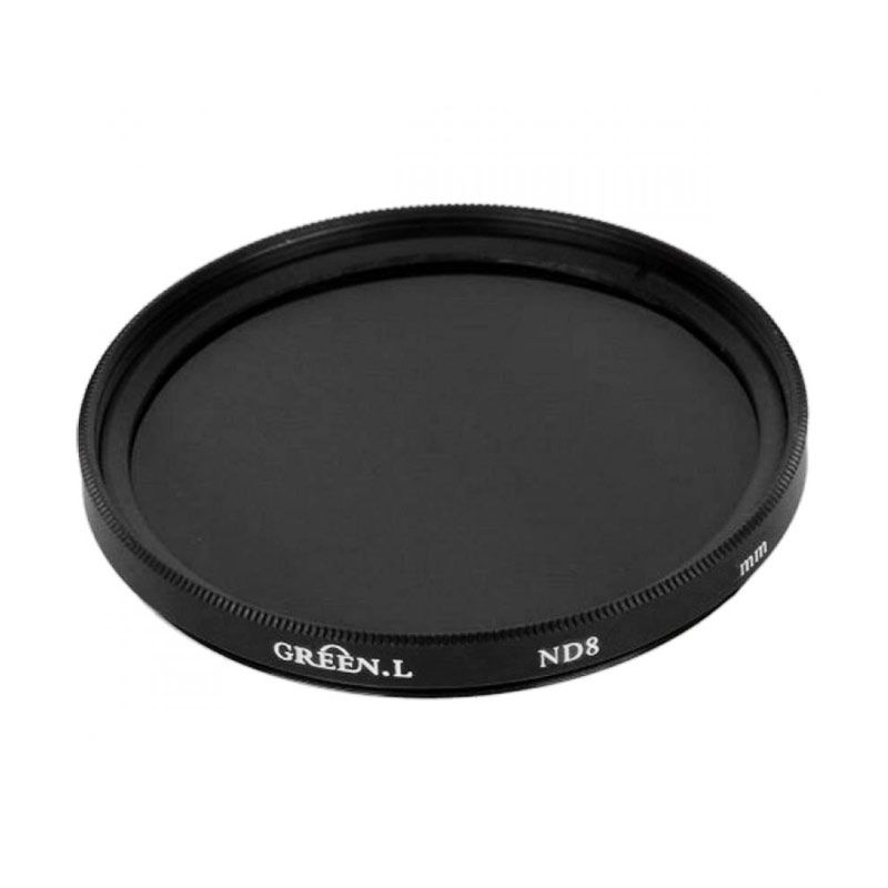 Green L ND8 62 mm Filter Lensa