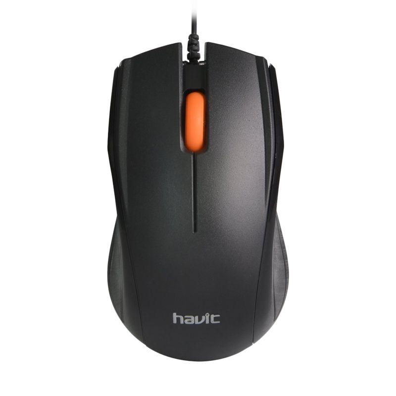 Havit High Defenition Engine Black Optical Mouse