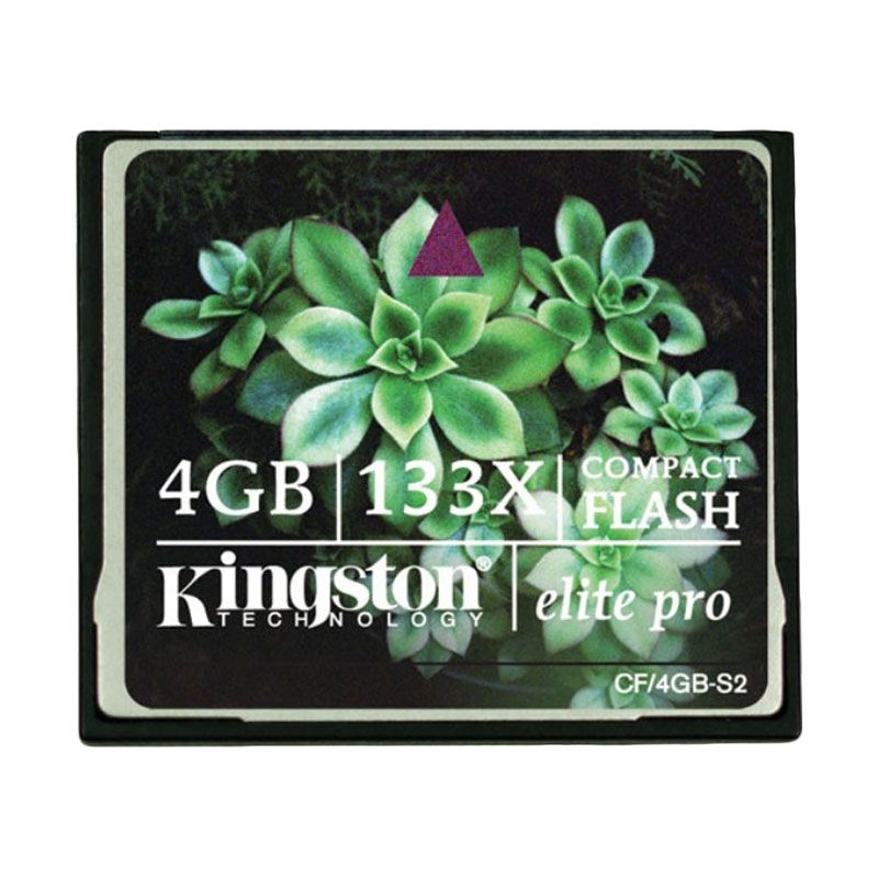 harga Kingston CF Pro 133X Memory Card [4 GB] Blibli.com