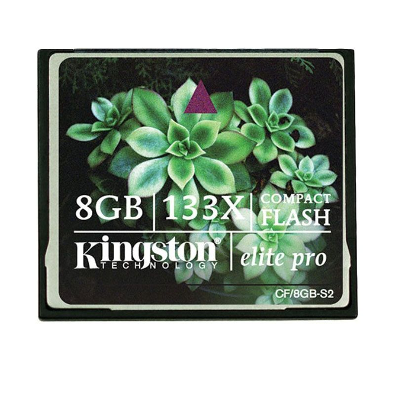Kingston CF Pro 133X Memory Card [8 GB]