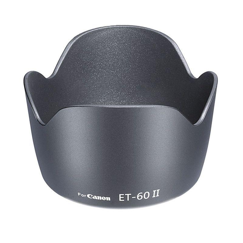 Neweer Canon ET-60 II Tulip Hitam Lensa