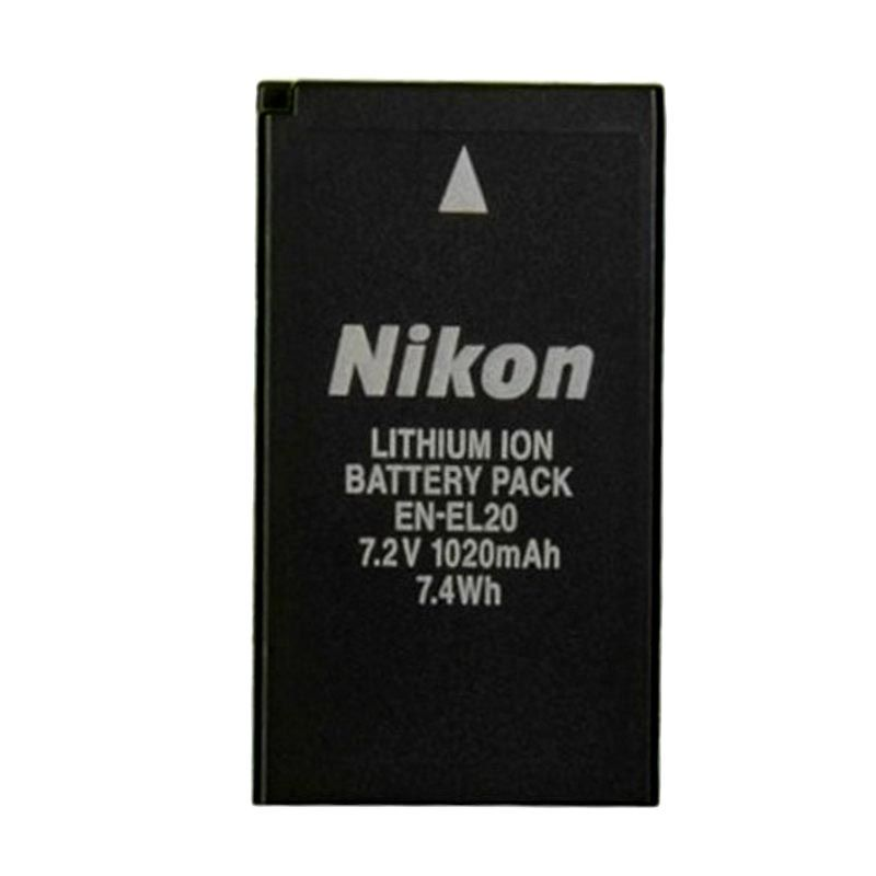 Nikon EN-EL20 Hitam Baterai Kamera