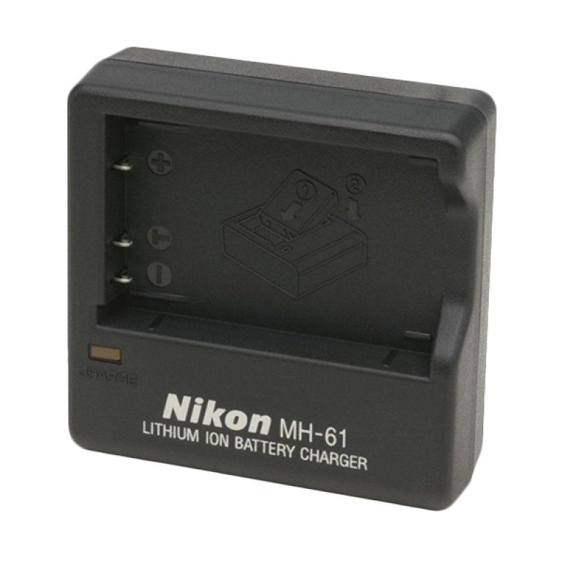 Nikon MH-61 Hitam Baterai Charger