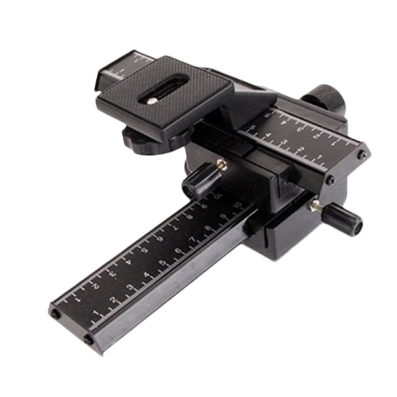 Third Party 4 Way Profesional Macro Rail Plate Tripod Mount