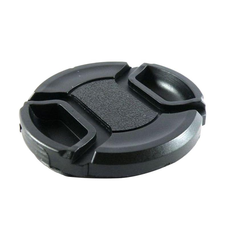 Third Party Black Lens Cap [55 mm]