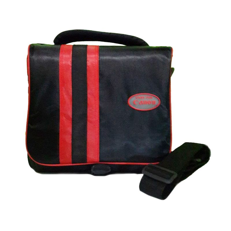 Third Party Canon 412C Merah Hitam Tas Kamera
