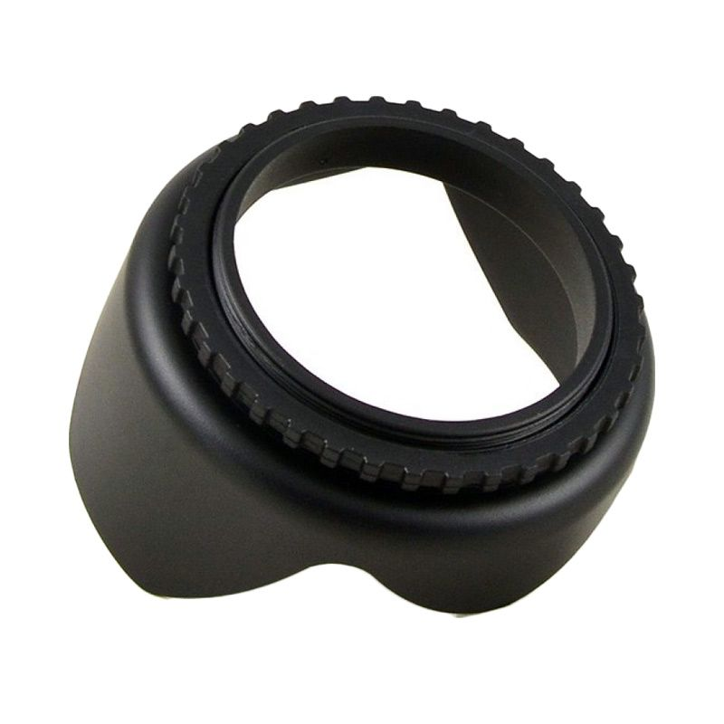 Third Party Flower Tulip Universal Lens Hood [62mm]